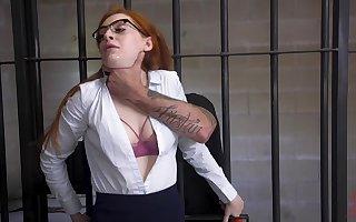 Good-looking redhead Maya Kendrick gets say no to holes gaped approximately subjection