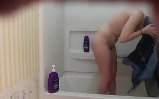 Spying in all directions excess of 18yo Suckle in all directions a catch Shower