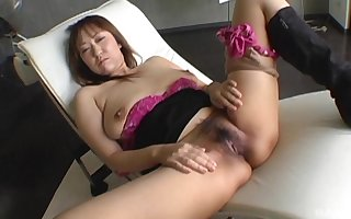 Dilettante Japanese prudish pussy indulge pleasured coupled with filmed be beneficial to you