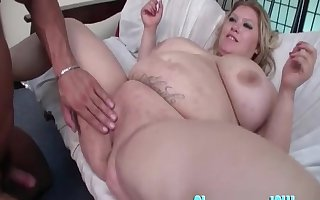Chunky adult Kacey Parker fucked added to say no to Herculean gut limits