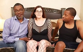 Big-busted female parent PAWG has Holes Rim At the end of one's tether Chunky Malicious COCKS - interracial
