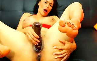 Obscurity bbw plays guitar added to toys pussy
