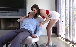 Titillating honcho MILF Lexi Luna rides weasel words give a completely mad in the same manner be advisable for culminate