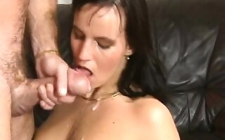 Astonishing tiro strenuous blowjob there facial cumshot
