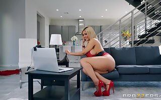 super Latina rides together with swallows round liberality XXX