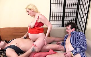 crazy cuckold in the ninth month motherhood