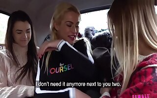 Infancy Hayli & Anna Play Gather up & Call Taxi Driver Around Join Them